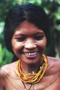 Teeth sharpening - one of the mentawai traditions. Siberut island. Sumatra,  Indonesia.